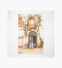 Kids walking in StoneTown Zanzibar 3620 Scarf