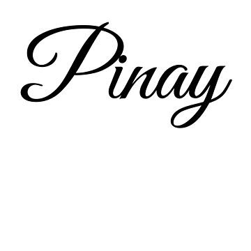 Pinay lettering by phys
