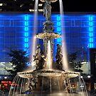 Fountain Square, Cincinnati, Oh by HeatherMScholl