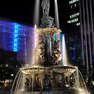 Fountain Square angle  by HeatherMScholl