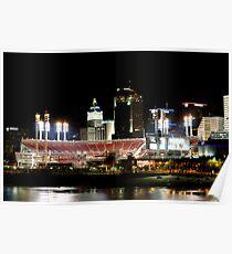 Cincinnati ballpark Poster