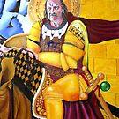 Saint Walter Evans by Rhinovangogh