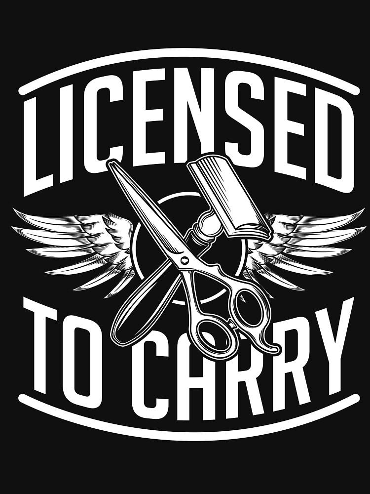 Barber license by GeschenkIdee