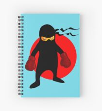 Ninja by Chillee Wilson Spiral Notebook