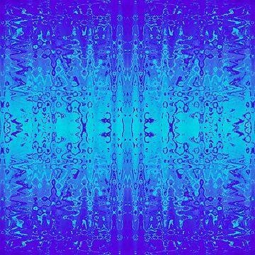 Blue Dreams Abstract Gradient by Missman