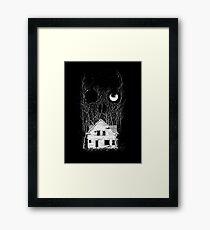 House of Death Framed Print