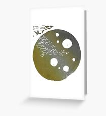 Devil Moon - Metallic Mood Greeting Card