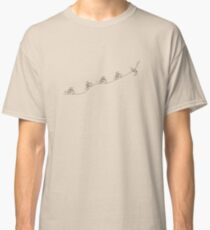 Over the Hill Cyclist Classic T-Shirt