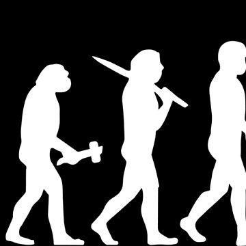Electrician Sparky Evolution Darwin Gift Present by Krautshirts