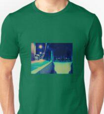 Urban Night Scene Unisex T-Shirt