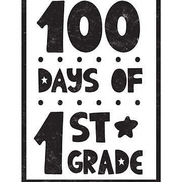 Teachers Students T-Shirt 100 Days Of First Grade Tee Gift  by arnaldog