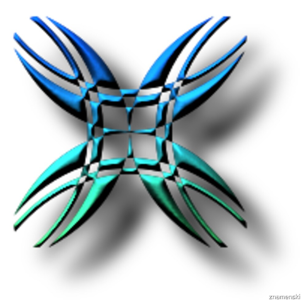 #illustration, #symbol, #nature, #design, #shape, decoration, flower, animal, art by znamenski