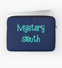 Mystery Sleuth by Chillee Wilson Laptop Sleeve