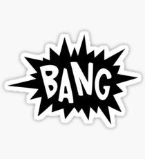 Cartoon Bang by Chillee Wilson Sticker
