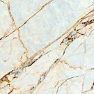 Marble Gold Pattern by Erika Kaisersot