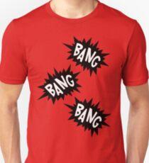 Cartoon Bang Bang Bang by Chillee Wilson T-Shirt