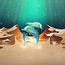 Delphin Wüste von schwebewesen