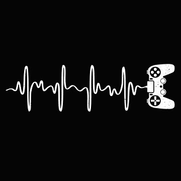 Video Gamer Heartbeat  by alenaz