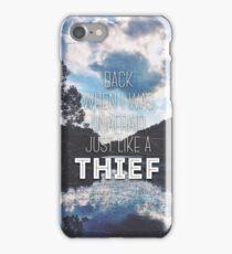 Thief Lyrics iPhone Case/Skin