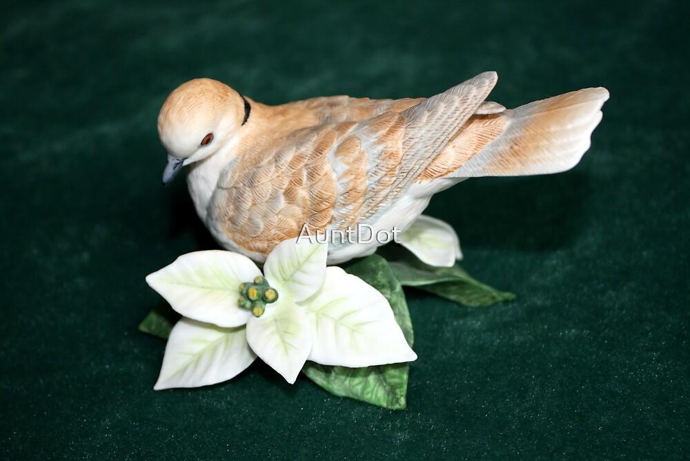 Turtle Dove Figurine by AuntDot