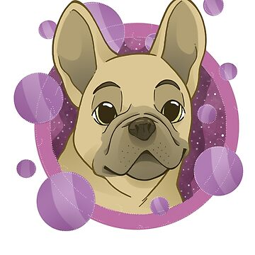 Frenchie lover - version 1 by mimi111art