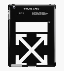 Off White Official Logo iPad Case/Skin