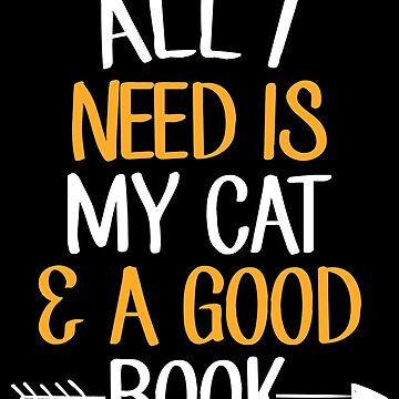 All I need is my cat and a good book - Reading by alexmichel