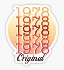 1978 CLASSIC T-SHIRT  Sticker