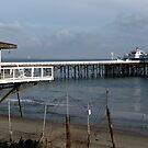 Malibu pier by Dalmatinka