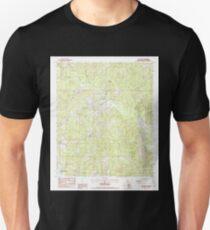 USGS TOPO Map Louisiana LA De Loutre 331801 1988 24000 Unisex T-Shirt