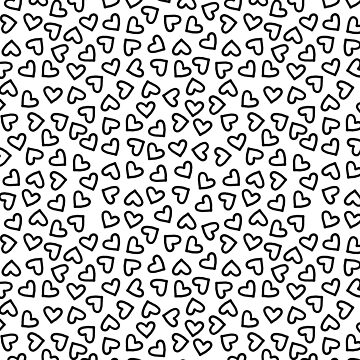 Tiny Doodle Hearts by TimorousEclectc