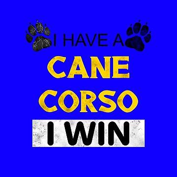 Cane Corso Dog Moloss Dog Breed Gift Idea by yoddel