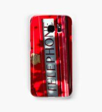 London telephone box Samsung Galaxy Case/Skin
