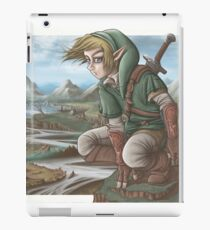 LINK has a nice view! iPad Case/Skin