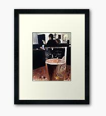 A Pint Framed Print