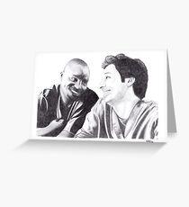 Scrubs - Turk & JD Greeting Card