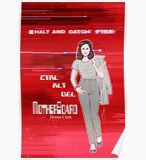 Halt and Catch Fire - Donna Clark Poster