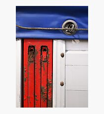 Red, white and blue Photographic Print