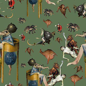 Monsters of Bosch pattern by Geekimpact