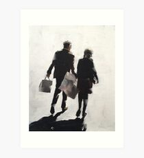Shoppers Art Print