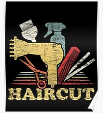 Barber profession Poster