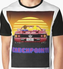 Outrun Checkpoint Graphic T-Shirt
