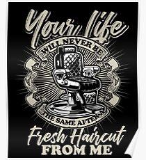 Barber haircut Poster