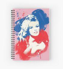 B. B. - Pop Art Fashion Icons Spiral Notebook