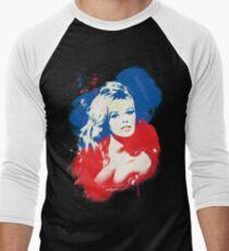 B. B. - Pop Art Fashion Icons Men's Baseball ¾ T-Shirt