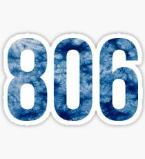 806 Sticker