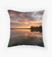 Yellow Water Dawn - Kakadu National Park Throw Pillow
