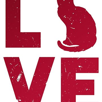Love Cats Cat Animals Pet Pets Chill Out by Manqoo