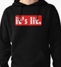 Feel the lit? Claim It! Grab this fabulous and extravagant tee! Makes a nice gift to your family too Pullover Hoodie
