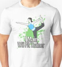 I Main Wii Fit Trainer - Super Smash Bros. T-Shirt